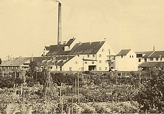 Fabrik in Schrobenhausen um 1955